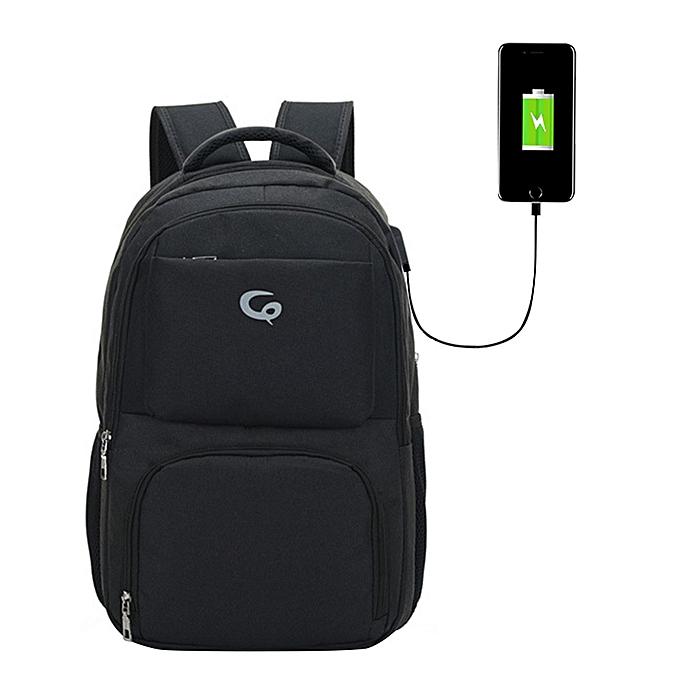 mode Tcetoctre portable rechargeable shoulder leisure trend of computer sacs BK-noir à prix pas cher