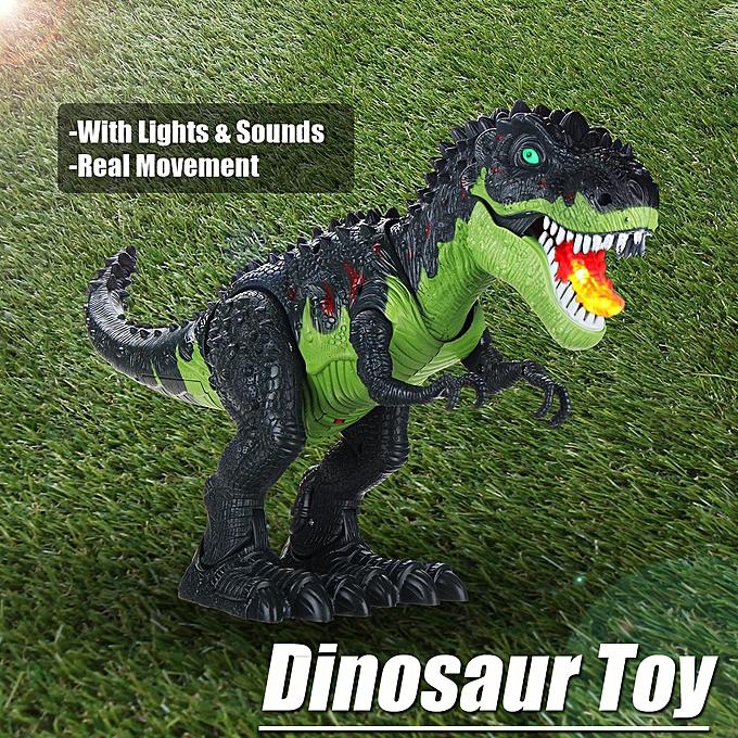 OEM Marcher Real Action Action T-Rex Dinosaure Éclairage Sons Enfants Cadeau Jouet Figur à prix pas cher