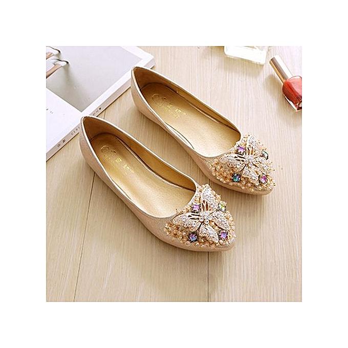 Fashion Fashion Plus Taille Elegant Dance Soft Trendy Ballet Flat Loafers For femmes à prix pas cher    Jumia Maroc