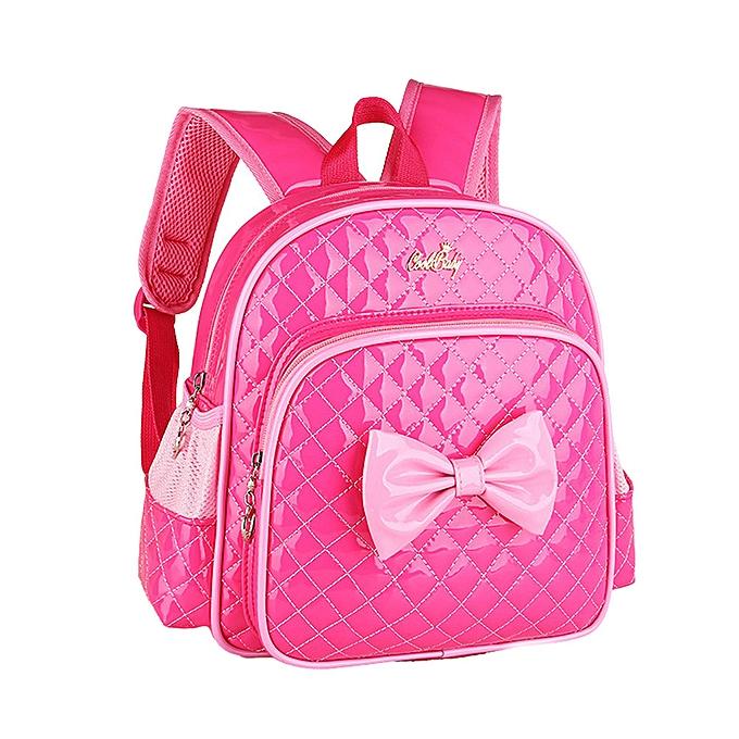 OEM   Enfants Girl Bowknot Print sac à dos School sacs mode Shoulder sac à prix pas cher