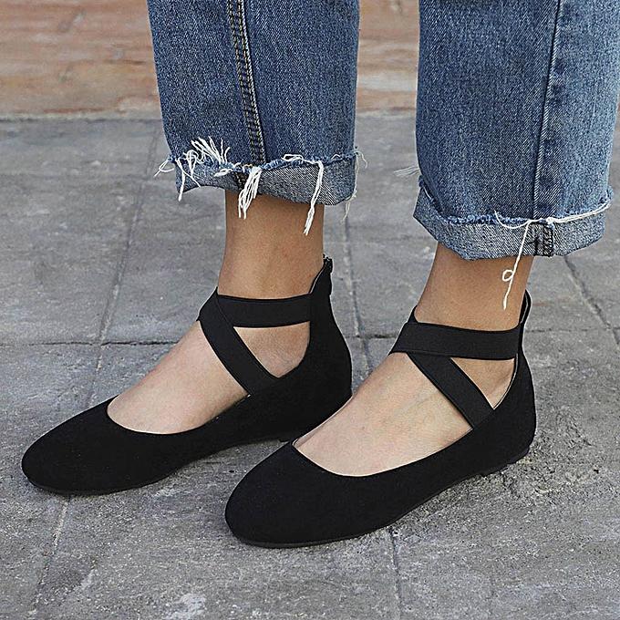 Generic femmes Ladies Summer Low Flat Heel Flip Flops Single Beach chaussures à prix pas cher    Jumia Maroc