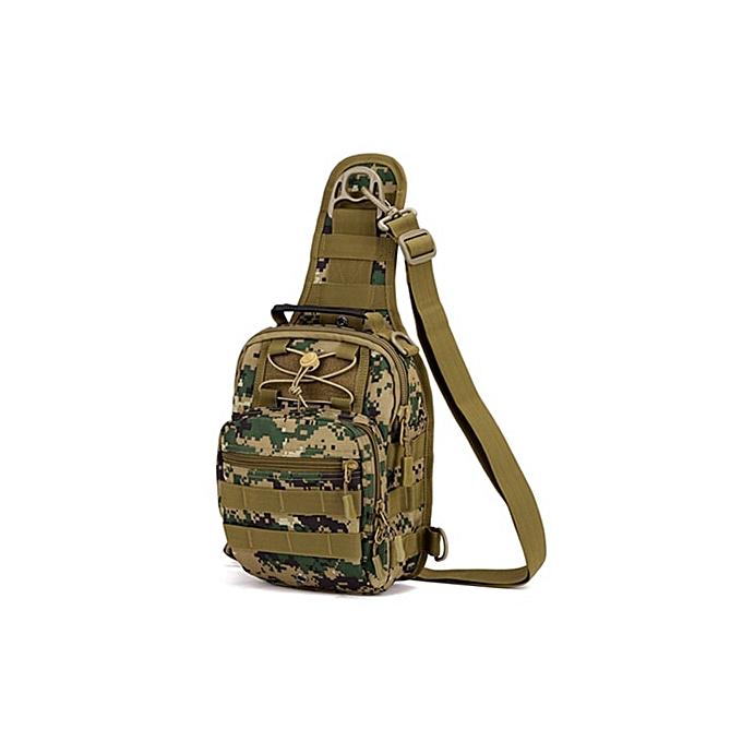 Other Norbinus 2018 Hommes's Shoulder Handsac  Chest sac Sling Pack Tactical bandoulière sacs for Hommes imperméable Nylon Belt sacs(Jungle Digital) à prix pas cher