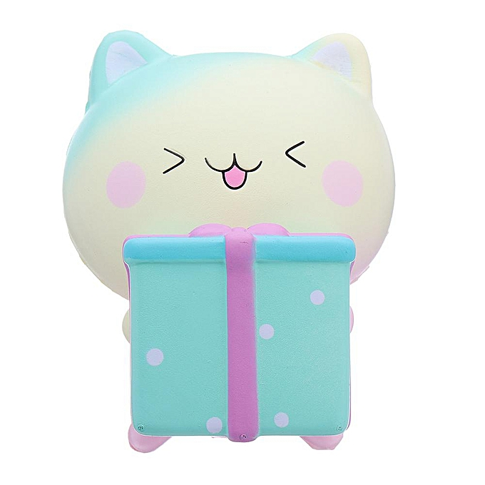 OEM The Old Tree Gift Box Cat Squishy 1113.5CM Slow Rising Soft With Packaging Collection Gift Toy à prix pas cher