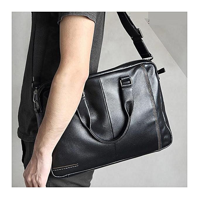 Fashion Handbag Business Bag Youth Shoulder Korean Fashion Fashion Casual Messenger Men à prix pas cher