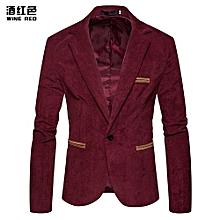 07c148925e7 Men Suit Formal Skinny Wedding Blazer Prom - Wine