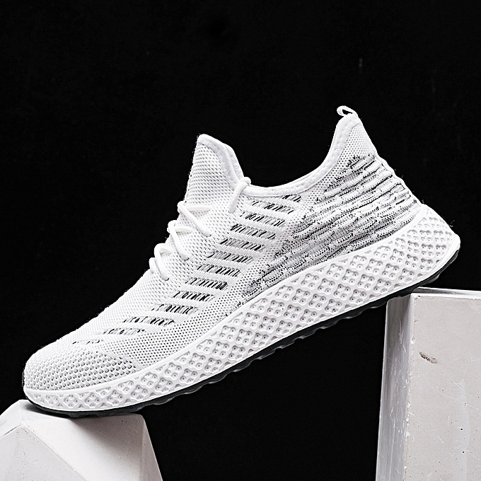 Other New Stylish Spring Portable Sports Mesh chaussures Summer Leisure Flying Weaving chaussures-blanc à prix pas cher    Jumia Maroc