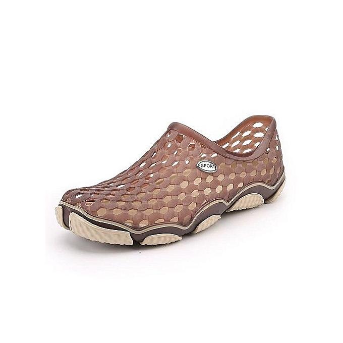 Tauntte Summer Men Holes Sandals Korean Slip-Ons Casual Beach chaussures à prix pas cher    Jumia Maroc