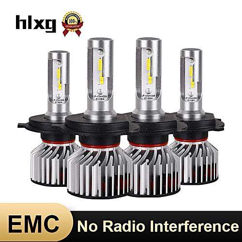 مكافحة EMC لا راديو تدخل سيارة العلوي H1 H11 H4 H7 LED لمبات 12 V  automotivo 70 W 6000 K H8 H9 HB3/9005 HB4/9006