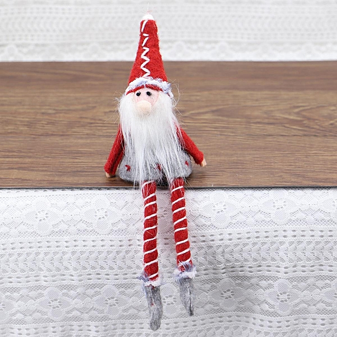 UNIVERSAL Wool Christmas Santa Claus Deer Snowhomme Doll Kids Gifts Home Decoration Ornament Old homme is large à prix pas cher