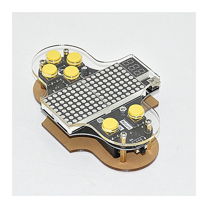 UNIVERSAL Electronic DIY Game Console Kit Game Soldering Practice Kit à prix pas cher