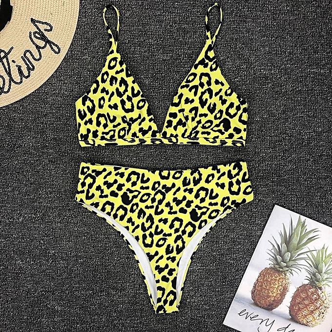 Autre Thong Bikinis femmes 2019 Sexy Bathing Suit Micro Leopard Print Brazilian Bikini Push Up Swimsuit femmes Swimwear Female Biquini JY-M( 13ST) à prix pas cher