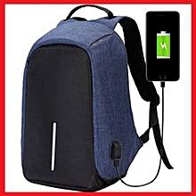 2d1e2ca603a8 Cartable Sac à dos Anti Vol - Port USB Pour charger votre téléphone  Smartphone, Multi
