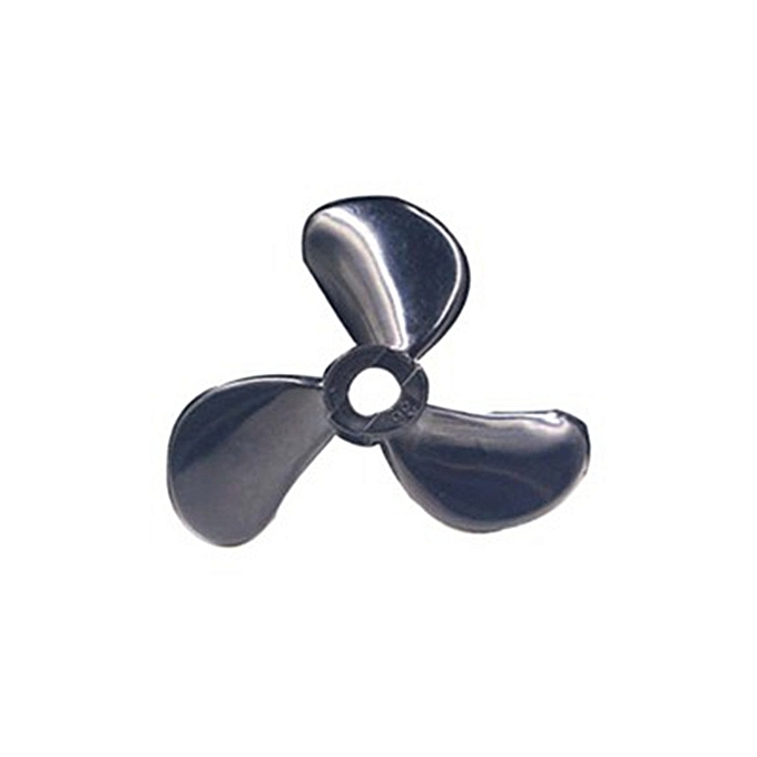 Generic 1PC noir Marine Boat Outboard Propeller Three-bladed Paddle à prix pas cher