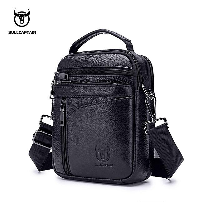 Other Man's  Messenger  Leather Crossbody Shoulder Bag Anti-theft Handbag Fashion Male Business Travel Phone Flap Blosa Gifts(noir) à prix pas cher