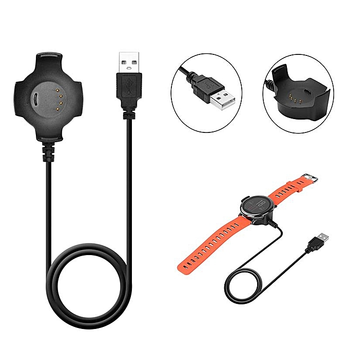 UNIVERSAL 1M Smart Watch Cable Charger Dock USB Charger For Huami Amazfit Smart Watch à prix pas cher