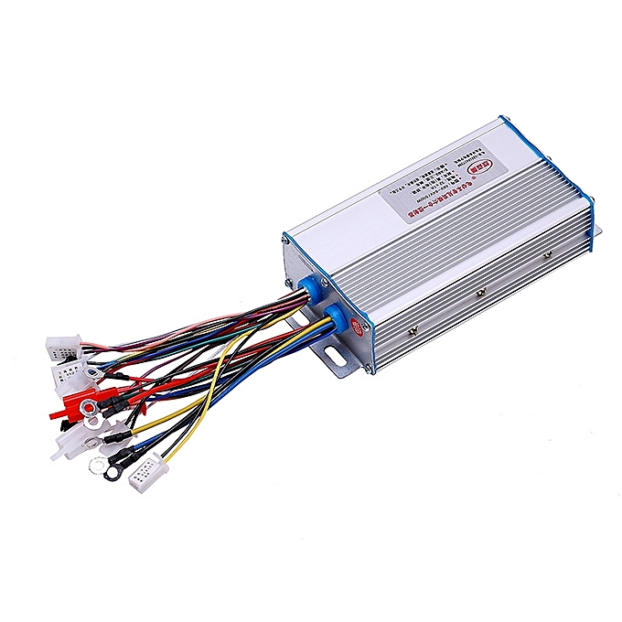 UNIVERSAL BIKIGHT 48V-64V 650W Brushless Motor Controller 12Fets For Electric Bike Bicycle Scooter Ebike Tricy à prix pas cher