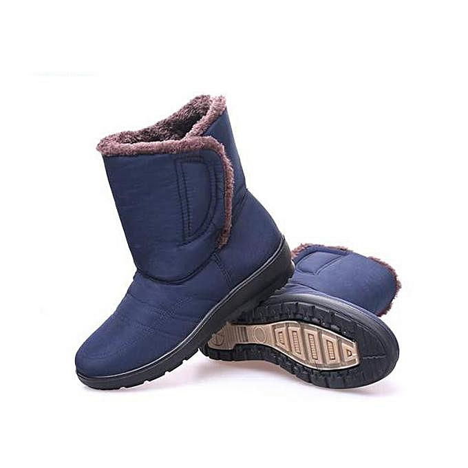 Fashion Fashion Large Size Magic Stick Warm Waterproof Mid- Calf Warm Stick Snow Winter Boots à prix pas cher  | Jumia Maroc cbfa83