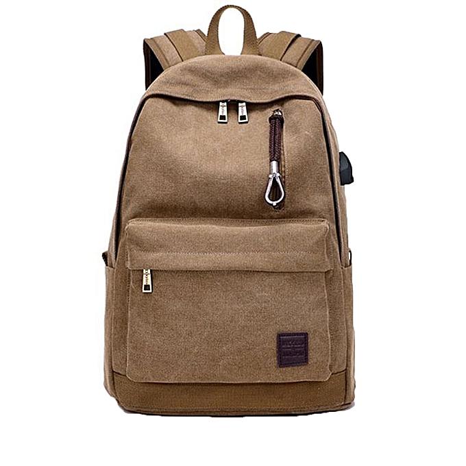 nouveauorldline Student Boy Laptop sac à dos School sac School sac à dos Hommes femme voyage sac CO-Coffee à prix pas cher