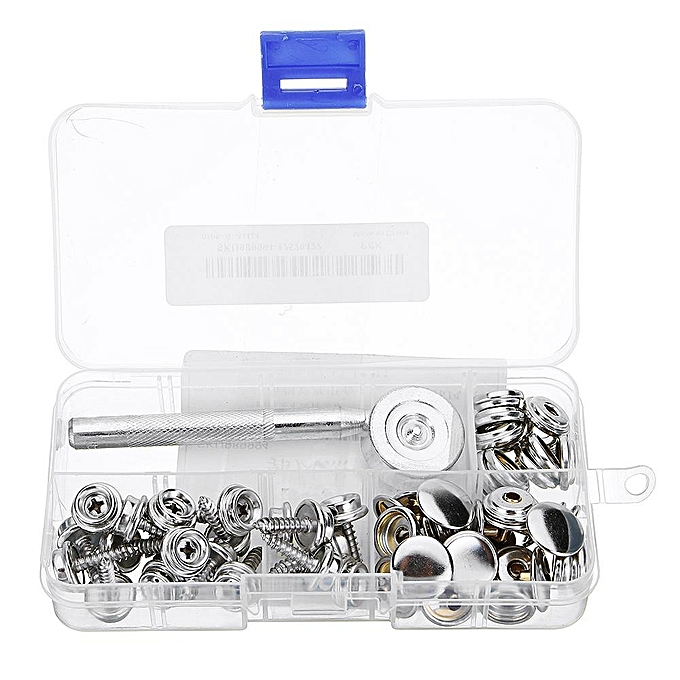 UNIVERSAL 5 8  20Pcs Screw Buckle Snap Buttons Press Studs Snap Fastener Sewing Clothing Craft DIY Fixing Tool à prix pas cher