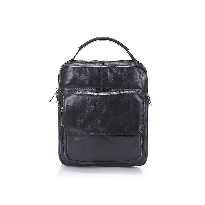 Generic mode Décontracté Genuine cuir sac Messenger sac Hommes Shoulder sac BK à prix pas cher