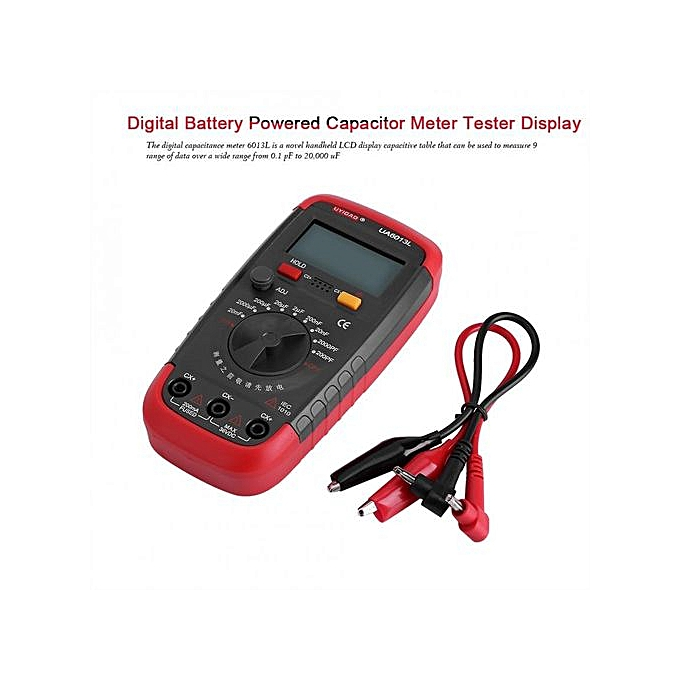 Other UYIGAO Digital Battery Powerouge Capacitan Capacitor Meter Tester 6013L LCD Display à prix pas cher