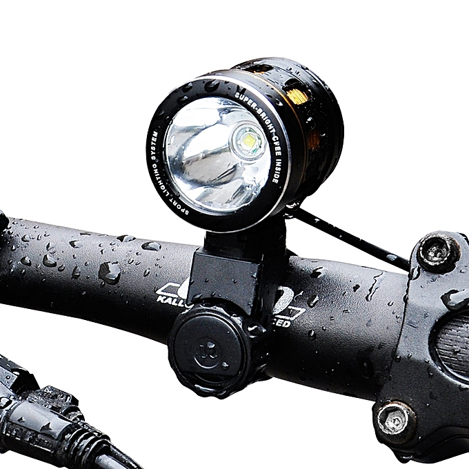 UNIVERSAL XANES XL07 1000LM T6 Bicycle Front Light IP65 120° Wide Angle with Lampshade HeadLamp à prix pas cher