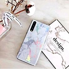 huawei y5 2019 coque marbre