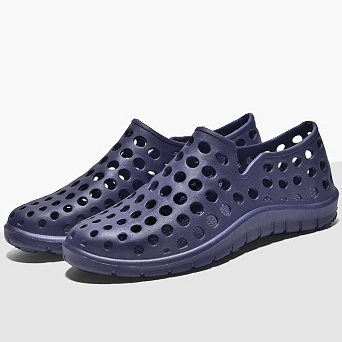 Fashion Men Casual Summer Hollow Outs Sandals Beach chaussures Rainy Days chaussures à prix pas cher