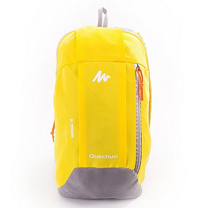 Generic Waterproof Nylon Men femmes Sport Backpack Casual Travel Camping Shoulder Bag à prix pas cher
