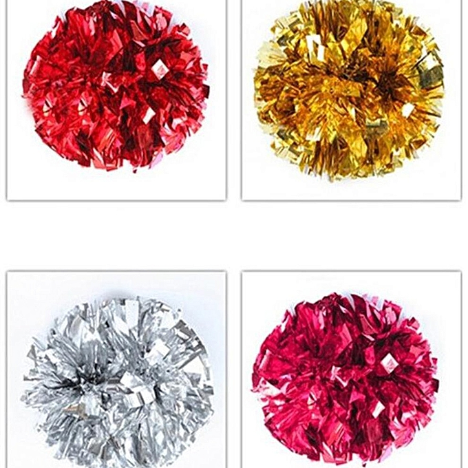 Generic Game dedicated flower ball 50g double-headed Couleur cheerleading 7 Couleurs à prix pas cher