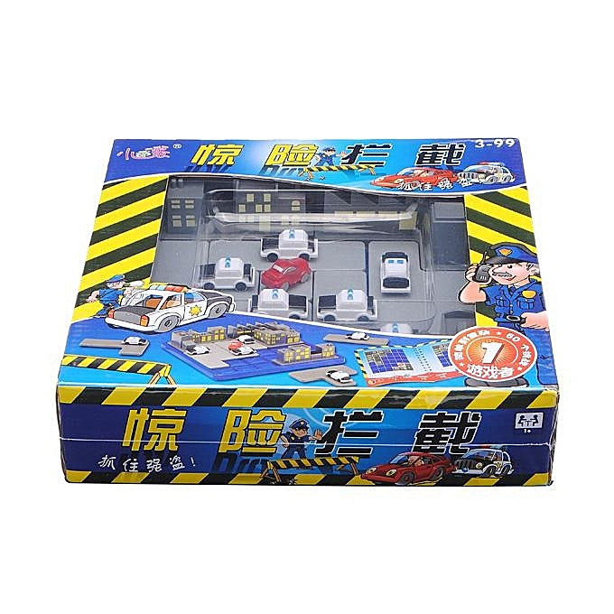 OEM Educational Toy Breathtaking Policehomme Chase Thief Block Maze Game à prix pas cher