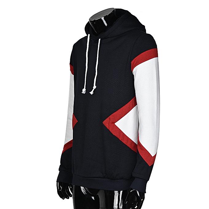 Fashion Meibaol store Men Winter Hoodie Warm Hooded Sweatshirt Coat Jacket Long Sleeve Blouse NY L à prix pas cher