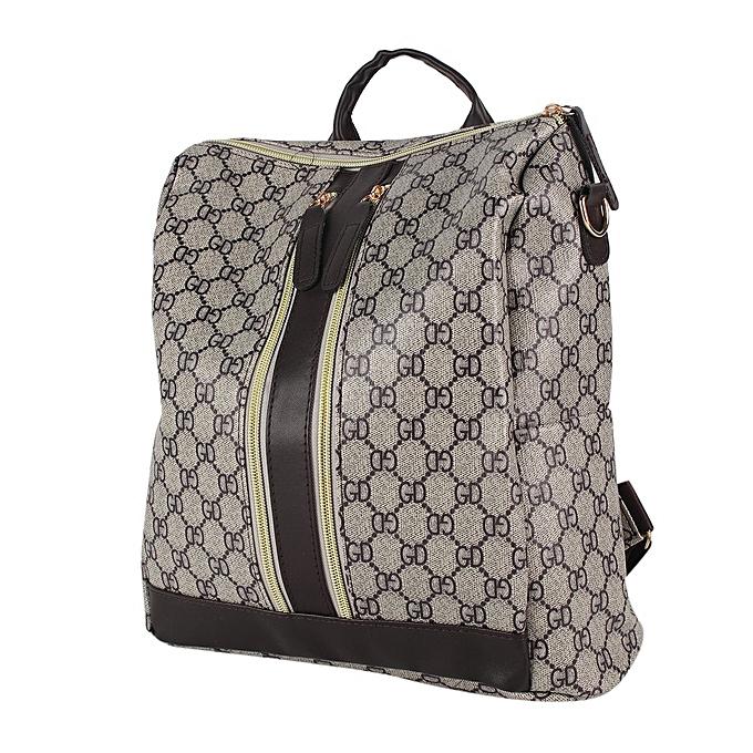 Generic Vintage femmes Soft PU cuir sac à dos Trendy Female Single Shoulder sac à prix pas cher