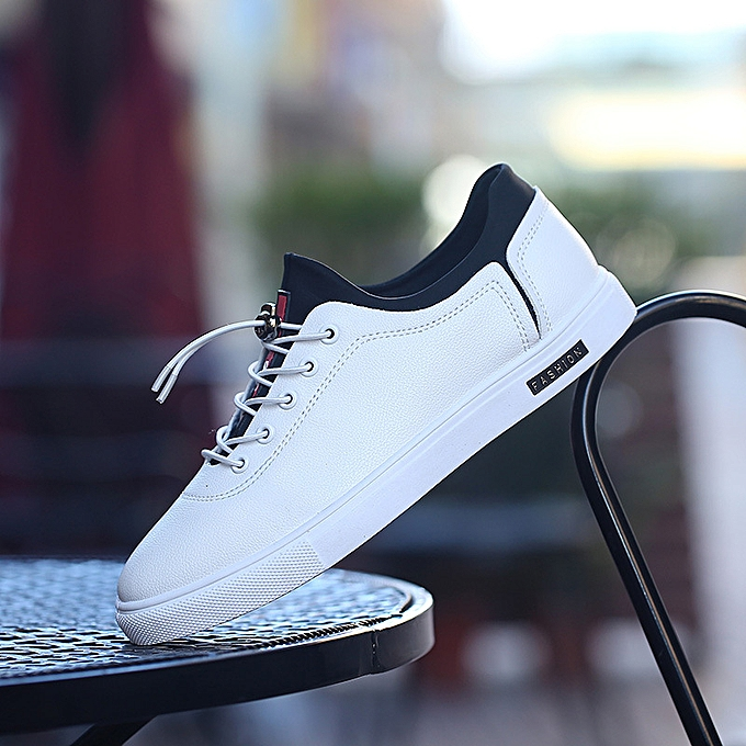 Fashion Low-top chaussures hommes casual chaussures lazy chaussures blanc à prix pas cher    Jumia Maroc