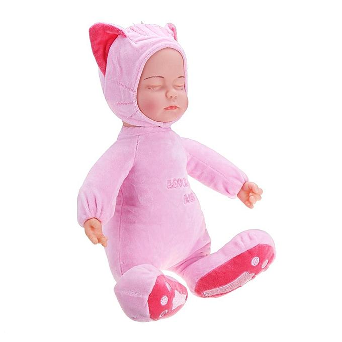 OEM Poupées bébé nouveau-né en silicone doux musicales rebelles jouets de modèle de chat endormi à prix pas cher