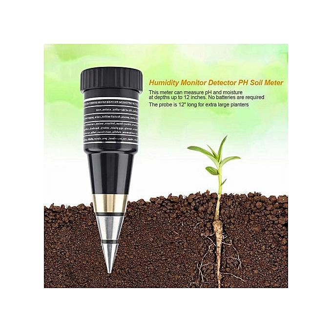 Other 2 In 1 Humidity Monitor Detector PH Soil Meter Moist Moisture Light Sensor à prix pas cher