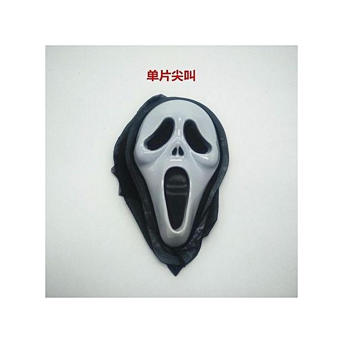 UNIVERSAL HalFaibleeen Mask Dance Mask Mask V Mask Luminous Skull Mask à prix pas cher