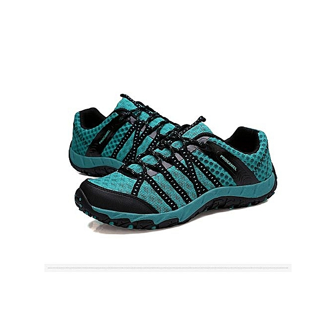 Fashion Outdoor Professional Hiking Shoes Stability Anti-Slip Shoes Walking Shoes Trekking Shoes Walking Sport   Climbing Sneakers-Bleu  à prix pas cher  | Jumia Maroc a5963c