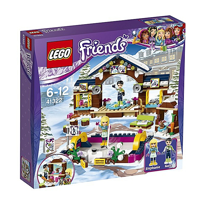 Lego Friends - La patinoire de la station de ski à prix pas cher