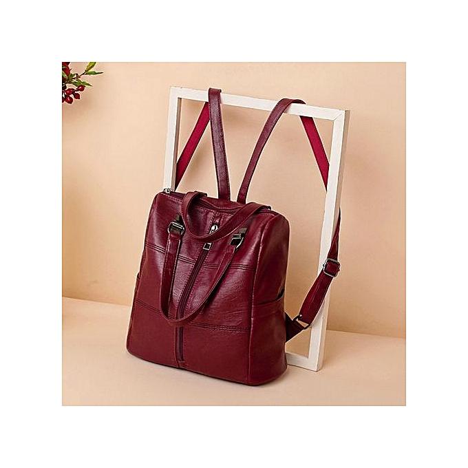 mode Xiuxingzi Vintage Girl cuir School sac sac à dos Satchel femmes voyage Shoulder sac à prix pas cher