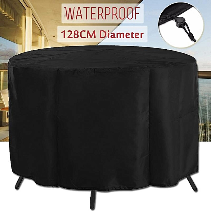 UNIVERSAL Patio Table Cover Garden Round Furniture Shelter Prougeector Anti-Dust Waterproof à prix pas cher