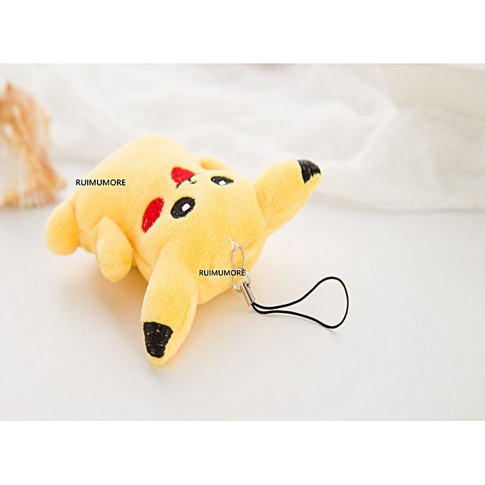 Autre Quality 12CM Height Approx. Stuffed Toy , Cute Pikachu Plush Toy Doll , Cat Stuffed Plush key chain plush toy doll(9cm) à prix pas cher