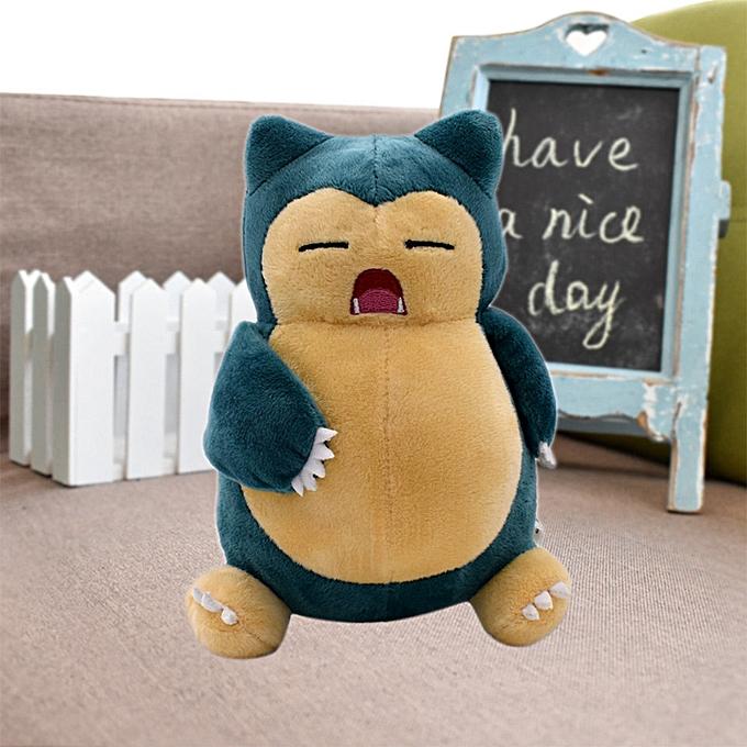 Autre Pikachu Lapras Jigglypuff Dragonite Snorlax Psyduck Ditto Squirtle Bulbasaur Charizard Togepi Cubone Plush Toy Soft Stuffed Doll(Standing Snorlax) à prix pas cher