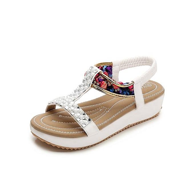 OEM Sandales Plates Pour Femmes à prix pas cher