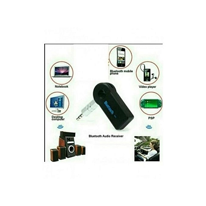bluetooth pour voiture via prise jack aux pour musique et appels achat t l phones tablettes. Black Bedroom Furniture Sets. Home Design Ideas