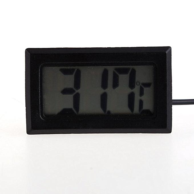 Other LCD Digital Fridge Freezer Thermometer Temperature Meter Gauge (noir) LJMALL à prix pas cher