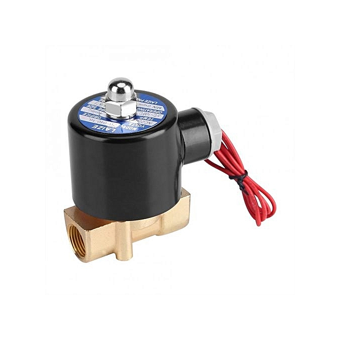 Other 220V DN10 3 8  Electric Normal Closed Valve Electromagnetic Valve For Water Oil Air Gas à prix pas cher
