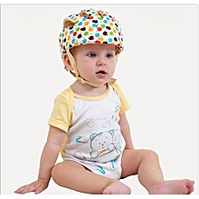 dd03828bc680 Adjustable Infant Baby Safety Helmet Kids Head Protection Caps Hat For  Walking Crawling (Multi-