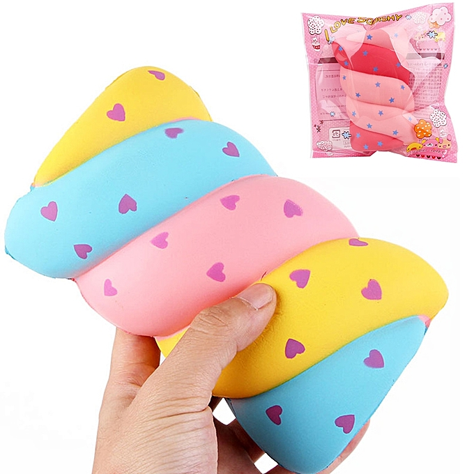 UNIVERSAL Cotton Candy Squishy 149.55.5CM Soft SFaible Rising With Packaging Collection Gift MarshmalFaible Toy-B à prix pas cher