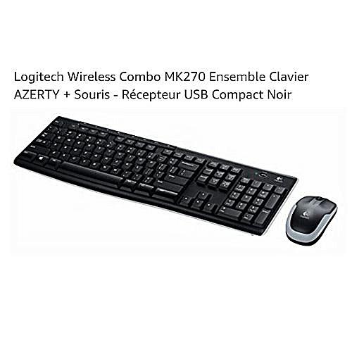 Wireless desktop mk270 ensemble sans fil souris for Accessoire chambre bebe